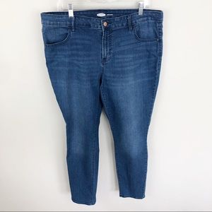 Old Navy Super Skinny Ankle Jeans Medium Wash 18